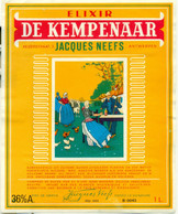 Oud Etiket / Ancienne étiquette Likeur / Liqueur Elixir De Kempenaar Jacques Neefs - Labels