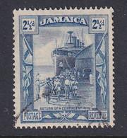 Jamaica: 1921/29   KGV - Pictorial    SG98a    2½d   Dull Blue & Blue     Used - Giamaica (...-1961)