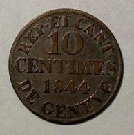 GENEVE - 10c  - 1844  - HMZ 358 - Zwitserland
