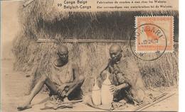 CONGO BELGE - Fabrication De Cruches à Eau Chez Les  Wahutu - Belgian Congo - Other