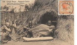 CONGO BELGE - Fabrication D'étoffes  Chez Les  Wahutu - Belgian Congo - Other