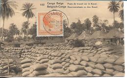 CONGO BELGE - Poste De Transit Sur Le Kasai - Belgian Congo - Other