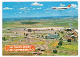 VV-548   JOHANNESBURG : Jan Smuts Airport - Aérodromes