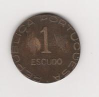 1 ESCUDO 1941 BRONZE - Mosambik