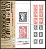 France 2019 - Yv N° C1526 ** - Carnet CÉRÈS - 73e Salon Philatélique D'Automne  (timbres 5253 - 5359 - 5360 - 5361) - Frankreich