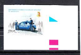 Italia   -  2020. Poliziotti; Con La Pantera In Dotazione. Policemen; With The Supplied Car Panther.  MNH - Politie En Rijkswacht