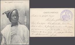 Carte Postale - Maroc Casablanca : Type De Jeune Sénégalais (Collection Dantan) / écrite + Cachet Militaire. - Casablanca