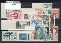 Fr - 1947 - Année Complète Postes N° 772/792 - XX - MNH - TB - - 1940-1949
