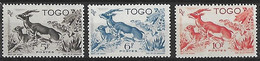 TOGO N°248 A 250 N** - Nuovi