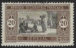 SENEGAL 1914   -  YT 59  - Marché -  Oblitéré - Used Stamps