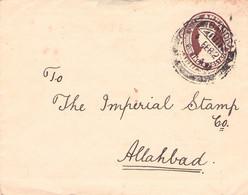 INDIA - ENVELOPE 1921 ALLAHABAD /AA181 - 1911-35  George V