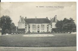 AUNAY       ( NIEVRE )     LE CHATEAU _ COUR D ' HONNEUR - Otros Municipios