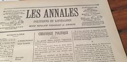 ANNALES 03/ MAURICE ROLLINAT FRESSELINES /GUITRY BRANDES CALVE CAPUS ARENE /SANTOS DUMONT /NANTERRE MIDINETTES - 1900 - 1949