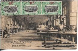 CONGO BELGE - ELISABETHVILLE - Atelier De Menuiserie - Très Beaux Timbres - Belgian Congo - Other