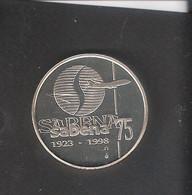 Médaille FDC 1998 75 Ième Anniversaire De La SABENA - Other