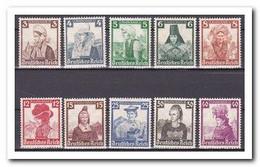 Duitse Rijk 1935, Postfris MNH, Costums - Unused Stamps