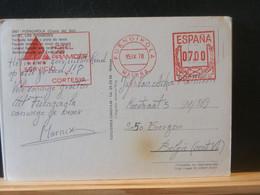 91/569  CP     ESPAGNE 1978  FLAMME HOTEL - 1971-80 Cartas