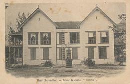 """Mahé Palais De Justice """" Victoria """" Court Hall Undivided Back - Seychelles"""
