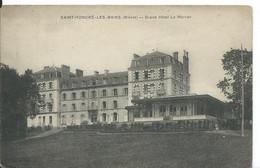 SAINT-HONORE-LES-BAINS    ( NIEVRE )        GRAND HOTEL LE MORVAN - Ristoranti
