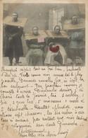 Chinese Torture Hand Colored . Cangue. Prisoners. P. Used Shanghai 1903 Chine Type Blanc . Via Siberia. Chasse . Hunting - Cina