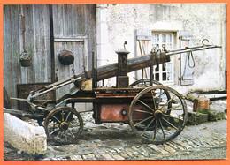 15 Cantal SALERS  Exposition Hippomobile Pompe à Incendie 1837 Carte Vierge TBE - Sonstige Gemeinden