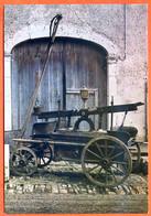 15 Cantal SALERS  Exposition Hippomobile Pompe à Incendie 1864 Voiture à Chevaux Carte Vierge TBE - Sonstige Gemeinden
