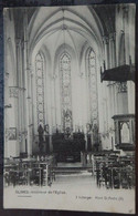 GLIMES - Intérieur De L'Église - Ed: Leberger Mont St-André (B) - 2 Scans - Incourt