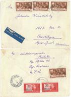 CIP 14 - 176b Bucuresti International Par Avion - Cover - Used - 1952 - Covers & Documents