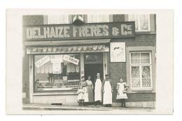 Delhaize Frères - Carte Photo A Situer - Belgique - Non Envoyée - Negozi