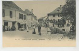 SUISSE - VALAIS - SAINT GINGOLPH - La Frontière - VS Valais