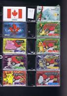 Télécartes Carte Telephonique Phonecard Canada 10 Cartes Neuves - Canada