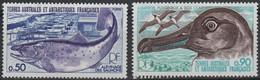 TAAF 14 - Terres Australes Et Antartiques Françaises N° 71/72 Neufs** 1er Choix - Französische Süd- Und Antarktisgebiete (TAAF)