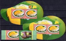 Thailand 2015. 50th Ann. Of Thailand-Singapore Diplomatic Relation. Dessert.  MNH - Thailand