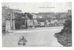 Gaillac Pont Suspendu - Gaillac