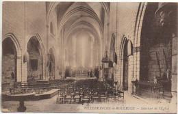 12 VILLEFRANCHE-de-ROUERGUE Intérieur De L'Eglise - Villefranche De Rouergue