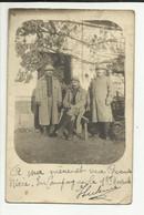 MILITARIA .  PHOTO .   POILUS  EN CAMPAGNE LE 1 NOVEMBRE 1915 - Guerra, Militari