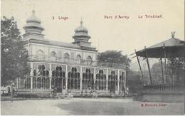 LIÉGE  ---- Parc D' Avroy  --  Le Trinkhall - Liège