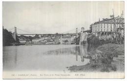 Gaillac Le Tarn Et Le Pont Suspendu - Gaillac