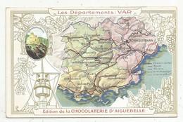 JC , Chromo , Chocolaterie D'AIGUEBELLE , Les Départements : VAR - Aiguebelle