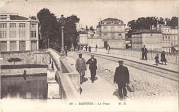 CPA Saintes Le Pont - Saintes