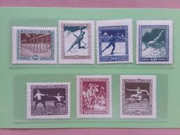 UNGHERIA - Sport Nn. 403/10 Nuovi * - Scritta Sul Retro + Spese Postali - Unused Stamps