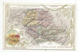 JC , Chromo , Chocolaterie D'AIGUEBELLE , Les Départements : TARN - Aiguebelle