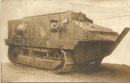 TANK EN 1917 - Matériel