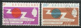 Basutoland Mi# 95-6 Gestempelt/used - ITU - 1933-1964 Kolonie Van De Kroon