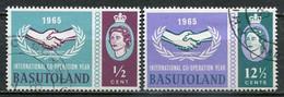 Basutoland Mi# 97-8 Gestempelt/used - Int. Cooperation Year - 1933-1964 Kolonie Van De Kroon