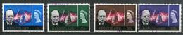 Basutoland Mi# 99-102 Gestempelt/used - Death Of Churchill - 1933-1964 Kolonie Van De Kroon