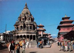 Nepal Patan Durbar Square + Timbre - Nepal