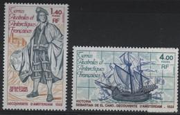 TAAF 57 - Terres Australes Et Antartiques Françaises N° 84/85 Neufs** 1er Choix - Französische Süd- Und Antarktisgebiete (TAAF)