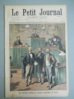 LE PETIT JOURNAL N° 500 - 17 JUIN 1900 -BUREAU CONSEIL MUNICIPAL PARIS - EXPOSITION 1900 PAVILLON DE LA PERSE- INDOCHINE - Le Petit Journal