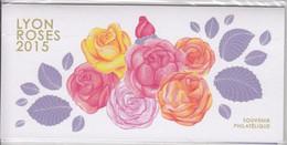 France, Bloc Souvenir, Roses, Neuf Dans Son Emballage D'origine, N° YT 111, 2015 - Sheetlets